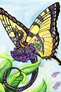 The Tiger Monarch Butterfly Dragon by Carla Morrow Fantasy Cool Wall Decor Art Print Poster 12x18