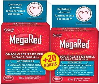 Megared Omega 3 - Aceite de Krill Complemento Alimenticio si