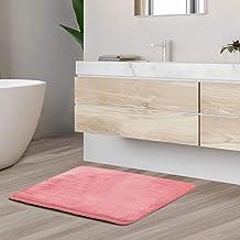 Clara Clark Bath Mat Bathroom Rug - Absorbent Memory Foam Bath Rugs - Non-Slip, Thick, Cozy Velvet Feel Microfiber Bathru...