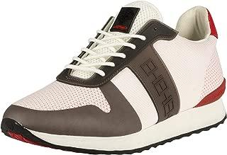 ED HARDY Men's Mono Runner Trainers, White