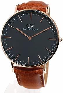 ダニエルウェリントン 腕時計 36MM 00100138DW Classic Black DURHAM ROSE GOLD [並行輸入品]