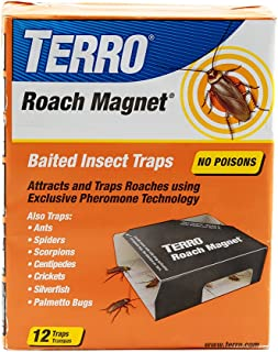 Terro T256 Roach Magnet Trap with Exclusive Pheromone Technology