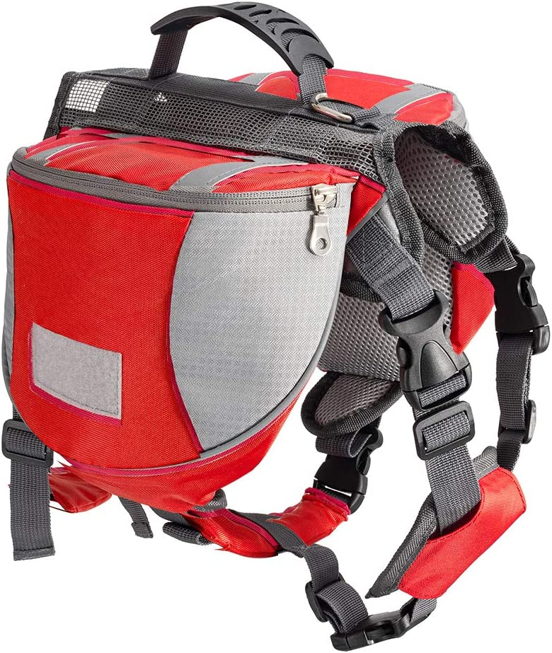 Less bad Cheap mail order shopping Max 61% OFF Lifeunion Dog Backpack Adjustable Tr New Camping Hiking