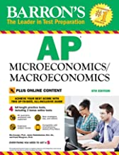 Download Book AP Microeconomics/Macroeconomics with Online Tests (Barron's Test Prep) PDF