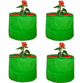 Cocogarden Terrace Garden Vegetable Green Grow Bags 15x15(Pack of 4)
