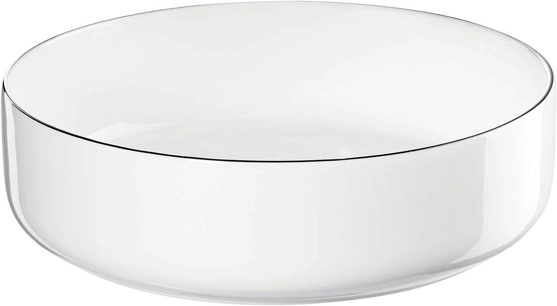 ASA Ocoligne Bowl White Mail order 16.7cm Miami Mall Porcelain