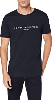 تومي هيلفيجر تي شيرت للرجال ، مقاس M ، اسود