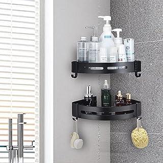 Navani Shower Corner Shelf Bathroom Corner Shelf,No Drilling Stainless Steel Shower Storage for Kitchen & Bathroom Accesso...