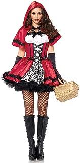 RONSHIN MeterMall Women Dress Fashion Little Red Riding Design Hood Costume for Oktoberfest Halloween Party
