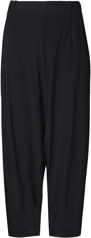 Crea Concept Women's Jersey Culotte Trousers Black