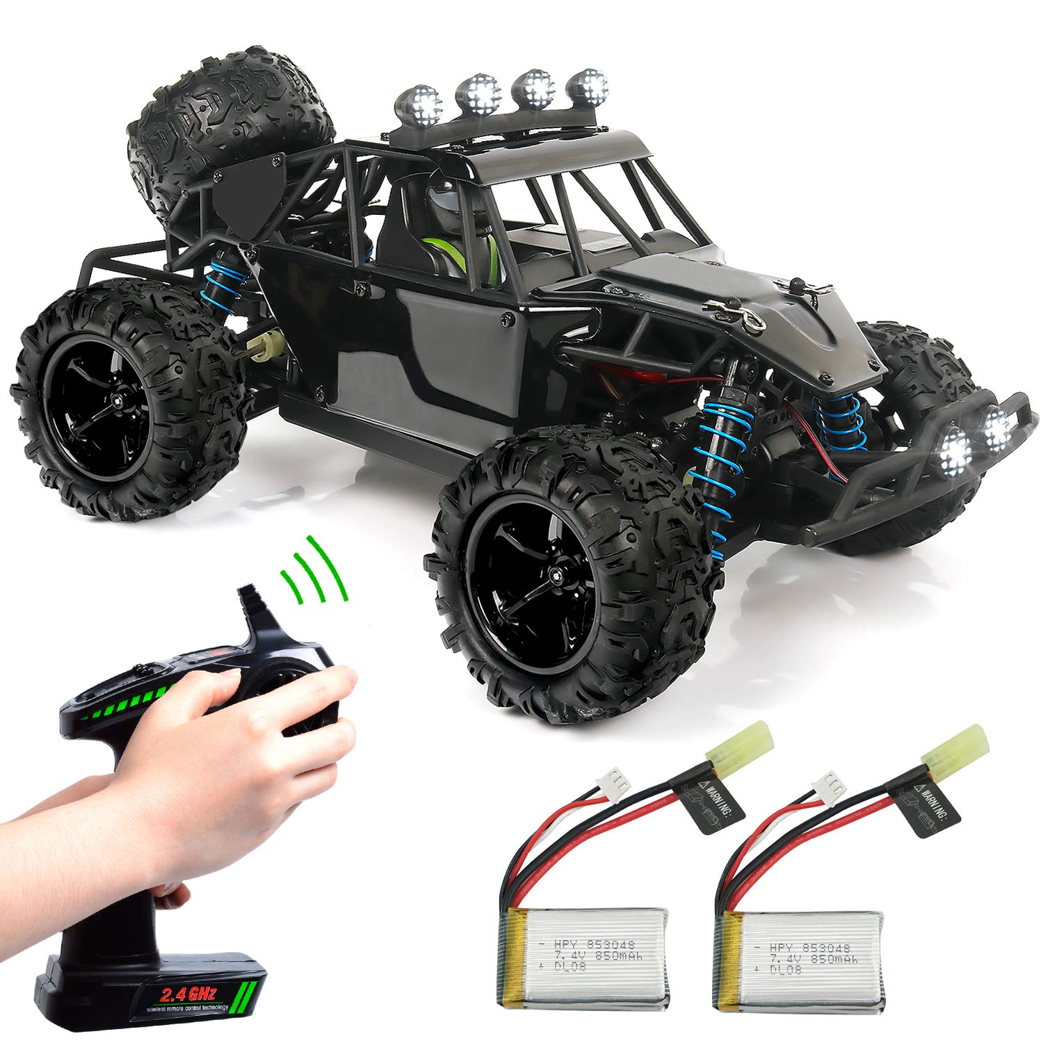 Ep Exercise N Play Rc Truck Rc Car Remote Control Car Terrain Rc Cars Electric Remote Control Off Road Monster Truck 1 18 Scale 2 4ghz Radio 4wd Fast 30 Mph Rc Car Amazon Com Au