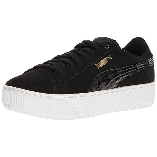 988ac81c448b40 PUMA Women s Vikky Platform Fashion Sneaker Black