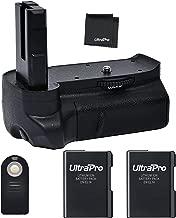 Battery Grip Bundle F/Nikon D3100, D3200, D3300: Includes Vertical Battery Grip, 2-Pk EN-EL14a Replacement Long-Life Batteries, UltraPro Accessory Bundle