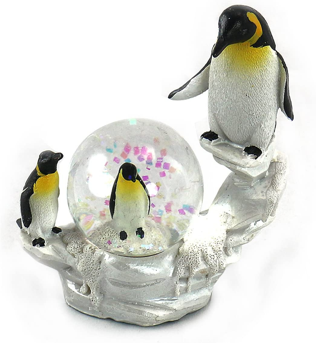 unison gifts YJF-551 4 Super Special SALE held Multicolor INCH Ranking TOP4 Penguin WATERGLOBE