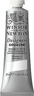 Winsor & Newton Designers Gouache Tube, 37ml, Permanent White