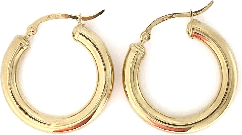 14K Gold Hoop Inventory cleanup selling sale Earrings Los Angeles Mall