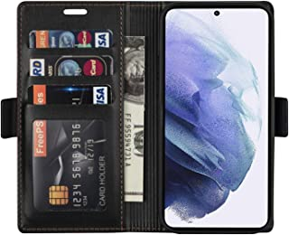 N.BEKUS Samsung Galaxy S21 Plus Case Wallet Flip Cover, Premium PU Leather Kickstand Phone Case with Card Slot and Magneti...