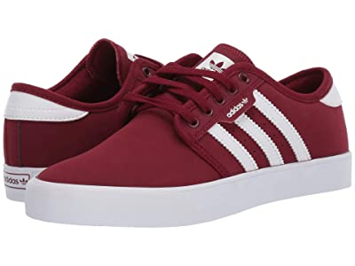 adidas Skateboarding Seeley (Collegiate Burgundy/Footwear White/Footwear White) Men