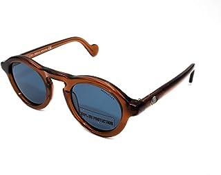 Sunglasses Moncler ML 0042 47V light brown/other / blue