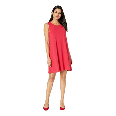 Lilla P Side Panel Dress (Campari) Women