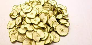 Little Valley Large 1 LB. Bag Dried Green Apple Slices - Perfect as Potpourri, Craft, Bowl Filler, Decoration - Not Meant Human Consumption