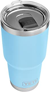 YETI Rambler 30 oz Stainless Steel Vacuum Insulated Tumbler w/MagSlider Lid, Sky Blue