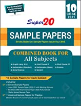 Super 20 Sample Papers (As Per Reduced Syllabus & the Latest CBSE Sample Papers for 2021 Exam) Class 10 Combined Book -For...