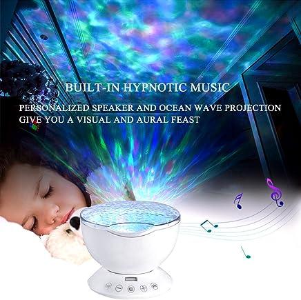 Lámpara de Océano Proyector 12 LED 7 Modos de Luz Nocturna ...