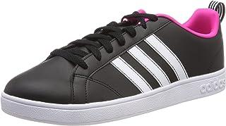 Adidas VS Advantage, Women's Tennis Shoes, Black (Core Black/Ftwr White/Shock Pink), 4 UK (36 2/3 EU)