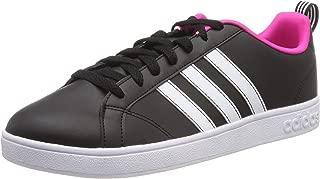 Adidas VS Advantage, Women's Tennis Shoes, Black (Core Black/Ftwr White/Shock Pink), 5 UK (38 EU) (BB9623)