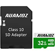 Micro SD Card 32GB, AUAMOZ Micro SDHC Class 10 UHS-I High Speed Memory Card for Phone,Tablet and...