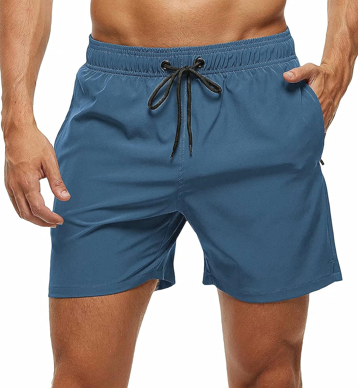 New sales Running-sun Men's New York Mall Swim Trunks Quick Short Beach Dry Board Shorts