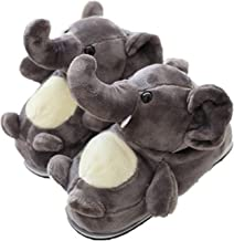 Cute Animal Slippers Women,Winter Warm Koala,Elephent,Rabbit,Hamster,Giraffe Bedroom Slippers,Cartoon Cotton Shoes Indoor