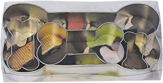 R&M International 1906 Dog Bone Cookie Cutters, Assorted Sizes, 4-Piece Set