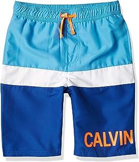 Calvin Klein Bañador con protección Solar UPF 50+. Bañador de natación para Niños
