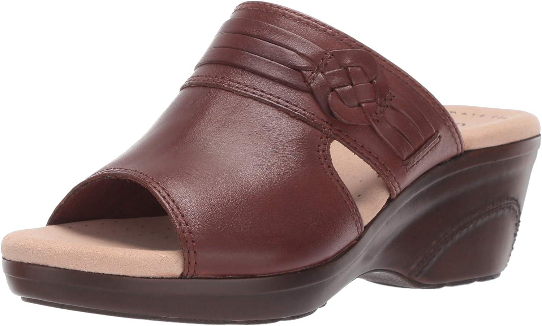 Clarks Womens Lynette Trudie Platform & Wedge Sandals