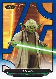 Star Wars Evolution 2016 Purple Parallel Card #26 Yoda Jedi in Exile