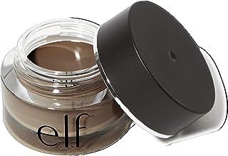 e.l.f. Lock On Liner And Brow Cream Lightweight, Creamy, Versatile Defines, Sculpts, Shades, Contours Espresso 0.19 Oz