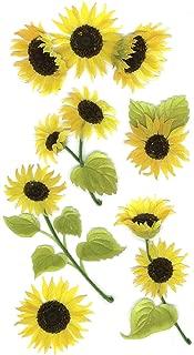 Jolee's Boutique 50-50024 Sticker 3D Sunny Sunflowers, Multicolor