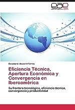 Eficiencia Técnica, Apertura Económica y Convergencia en Iberoamérica: Su frontera tecnológica, eficiencia técnica, convergencia y productividad (Spanish Edition)