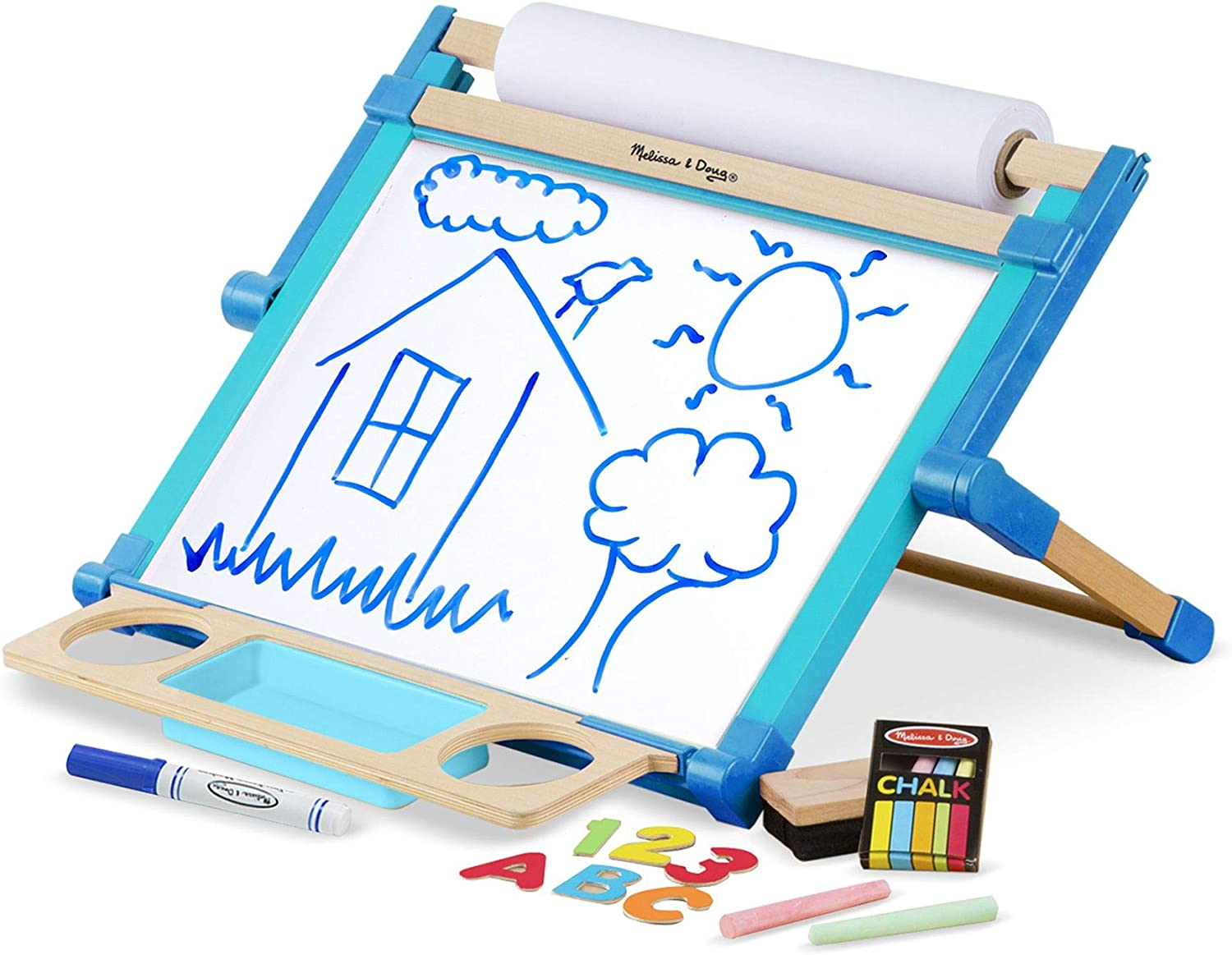 Max 64% OFF Melissa Direct stock discount Doug 12790 Double-Sided Magnetic Art - Tabletop Easel