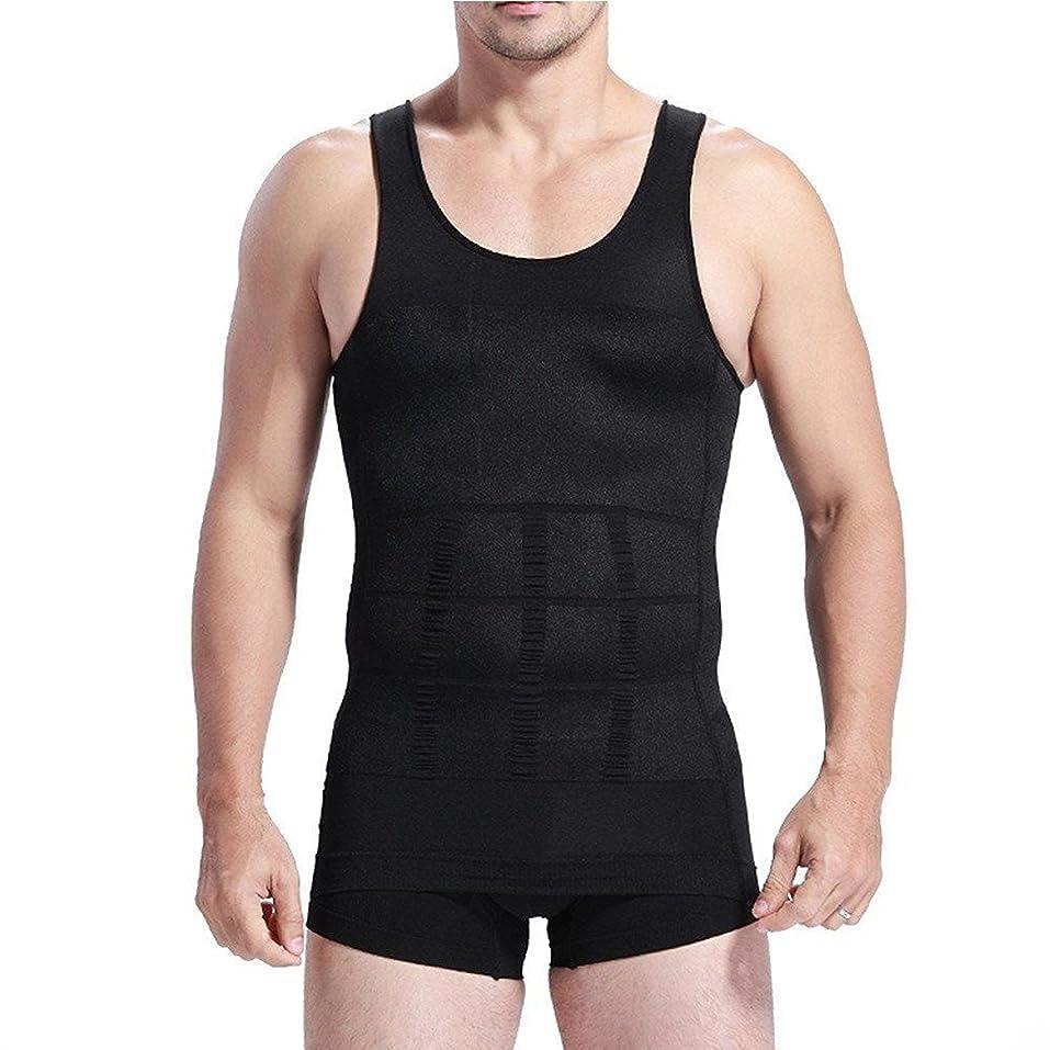 ラベンダー建てる合図JCL 加圧 スポーツシャツ メンズ タンクトップ アンダーウェア インナー インナーシャツ 姿勢矯正 猫背矯正 補正下着 スリーブレスシャツ