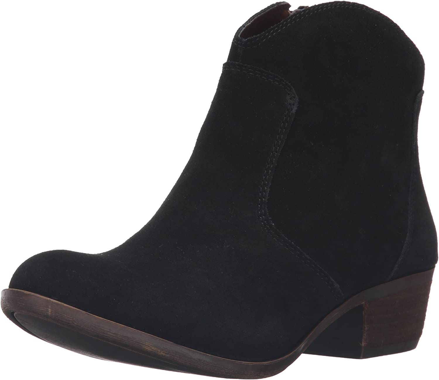 Lucky Brand Womens Belia Ankle Bootie