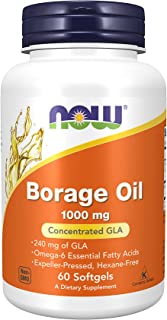 Now Foods - Borage Oil 1000 Mg 240 Gla 60 Softgels 48456