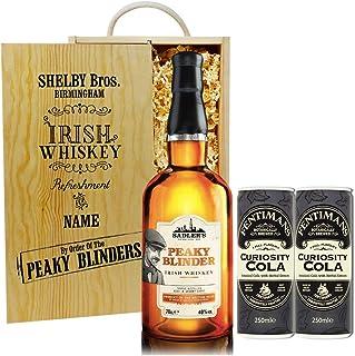 Personalised Peaky Blinders Irish Whiskey Gift Set Hamper (70cl)