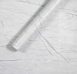 Homein Grey Marble Paper Self Adhesive Decorative Matte Granite Vinyl Film Wallpaper Adhesive Waterproof Removable Peel an...
