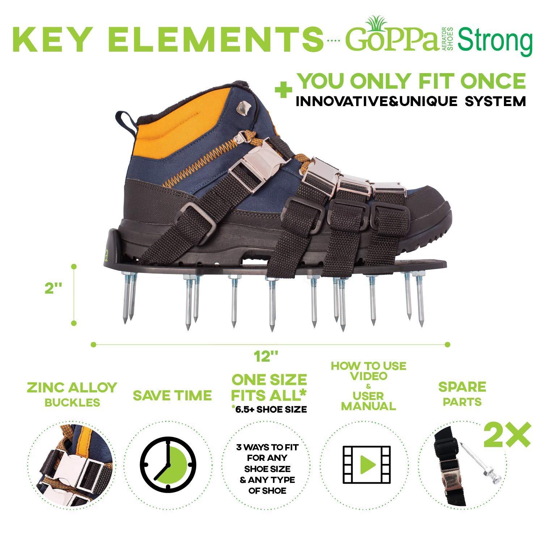 GoPPa® Lawn Aerator Shoes