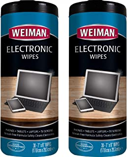 Weiman Electronic Wipes - Non Toxic Safely Clean Your...