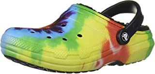 Classic Lined Tie Dye Clog