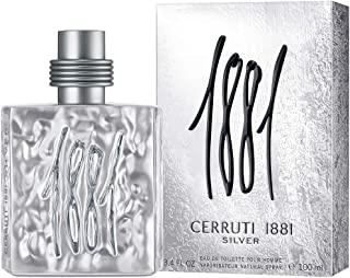 CERRUTI 1881 Silver For Men Eau De Toilette, 100 ml